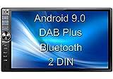 Tristan Auron BT2D7020A Autoradio mit Android 9.0, 7'' Touchscreen Bildschirm, GPS Navi, Bluetooth...