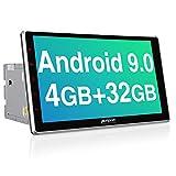PUMPKIN Android 9.0 Autoradio Moniceiver 4GB / 8 Core mit Navi 10,1 Zoll Bildschirm Unterstützt...