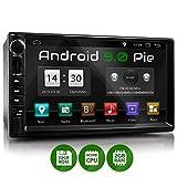 XOMAX XM-2VA757 Autoradio mit Android 9, QuadCore, 2GB RAM, 32GB ROM, GPS Navigation I Support: WiFi...