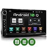 XOMAX XM-2VA757 Autoradio mit Android 10, QuadCore, 2GB RAM, 32GB ROM, GPS Navigation I Support:...