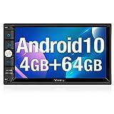 Vanku Android 10 Autoradio mit Navi 64GB + 4GB 8 Core Unterstützt Qualcomm Bluetooth 5.0 aptX DAB +...