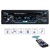 Tobetree Aigoss 60W×4 Autoradio mit Bluetooth4.2 Freisprecheinrichtung und Fernbedienung, 1 Din...