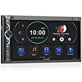 7 Zoll Doppel-DIN Digital Media Autoradio-Empfänger, aboutBit Bluetooth 5.0 Touchscreen Autoradio...