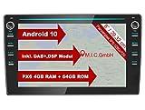 M.I.C. AVM8 Android 10 Autoradio mit navi Ersatz für VW Polo 5 6 T6 Composition Skoda Fabia 3 Seat...