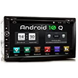 XOMAX XM-2DA758 Autoradio mit Android 10, QuadCore, 2GB RAM, 32GB ROM, GPS Navigation I Support:...