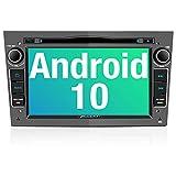 PUMPKIN Android 10 Autoradio für Opel Radio mit Navi / DVD Player Unterstützt Bluetooth DAB+ WiFi...