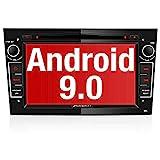 PUMPKIN Android 9.0 Autoradio für Opel Radio mit Navi / DVD Player Unterstützt Bluetooth DAB+ WiFi...
