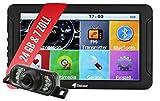 Elebest City 70K Navigationsgerät PKW, LKW, Wohmobil - Großes 7 Zoll (17,8 cm) Touchscreen HD...