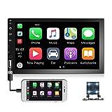 7 Zoll Autoradio Doppel Din mit Autoradio Bluetooth Unterstützt Freisprecheinrichtung,D -...