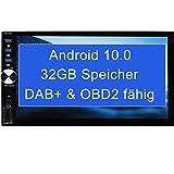 Tristan Auron BT2D7026A Android 10.0 Autoradio - 7' Touchscreen I mit Navi GPS Bluetooth...