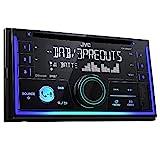 JVC KW-DB93BT Doppel-DIN CD-Receiver mit Digitalradio (DAB+), Bluetooth-Freisprechfunktion und...