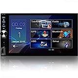 Tristan Auron BT2D7026 Autoradio - 7'' Touchscreen Bildschirm I Doppel Din I Win CE I Mirrorlink -...
