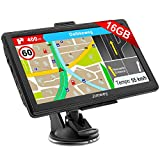 Jimwey Navigationsgerät für Auto LKW Navigation 7 Zoll Navi 16GB Navigationssystem Lebenslang...