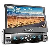 XOMAX XM-V762-L11 Autoradio mit Mirrorlink, Bluetooth Freisprecheinrichtung, 7 Zoll / 18cm...