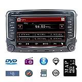Stereo Home 7 Zoll 2 Din Autoradio Naviceiver für VW mit DVD CD GPS USB SD CANBUS FM AM RDS Video...