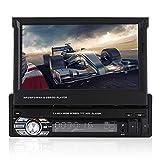 Garsent Autoradio mit Bluetooth Freisprecheinrichtung, 7 Zoll Touchscreen Auto MP3 MP5 Player...