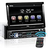 BOSS AUDIO BV9979B Single-DIN DVD Player Autoradio mit ausfahrbarem 7' Zoll Multi Color Touchscreen...