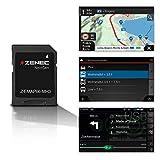 ZENEC Z-EMAP66-MH3: Micro SD-Karte mit Reisemobil Navigation für ZENEC Autoradios/Multimediasysteme...