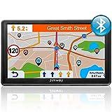 Bluetooth Navi Navigationsgerät für Auto LKW GPS Navigation 7 Zoll 16GB Lebenslang Kostenloses...