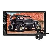 Aigoss Autoradio mit Bluetooth Freisprecheinrichtung,2 Din 7' Touchscreen Freisprech Radio MP5...