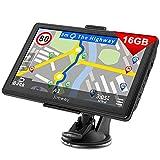 Jimwey Navigationsgerät für Auto Navigation LKW Navi 7 Zoll 16GB Lebenslang Kostenloses...