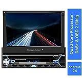 Tristan Auron BT1D7022A Autoradio mit Android 9.0 I 7'' Touchscreen Bildschirm, GPS Navigation,...