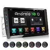 XOMAX XM-2VA1001 Autoradio mit Android 10, QuadCore, 2GB RAM, 32 GB ROM, GPS Navigation I Support:...
