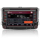 AWESAFE Radio mit Navi für VW Golf Skoda Seat, 2 DIN Autoradio mit Bluetooth CD-Laufwerk 7 Zoll...