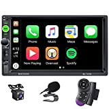 X-REAKO Autoradio 2 DIN Car Stereo 7 Zoll HD Touchscreen Bluetooth Freisprecheinrichtung Autoradio...
