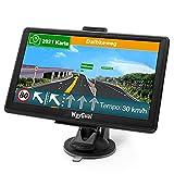 GPS Navigationsgerät für Auto LKW - WayGoal Navigation 7 Zoll Navi für Auto PKW, Lebenslang...
