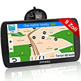 Jimwey Navigationsgerät für LKW Auto Navigation GPS Navi Navigationssystem 9 Zoll 16GB Lebenslang...