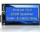 Tristan Auron BT2D7019A Android 10 Autoradio I 32 GB 7 Touchscreen Bildschirm I Bluetooth...
