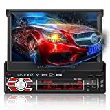Autoradio GPS Navigation, HALUM Wince 7'' 1080P Touchscreen 2 DIN, Mirrorlink/Bluetooth...