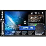 Tristan Auron BT2D7019A Android 10 Autoradio mit Navi + DAB+ Box I 7' Touchscreen GPS Bluetooth...