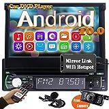 Autoradio Bluetooth 1din Radio Navigation Moniceiver DVD Player Android 10.0 7 zoll Auto Radio...