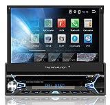 Tristan Auron BT1D7022A Autoradio mit Android 8.1, 7'' Touchscreen Bildschirm, GPS Navigation,...