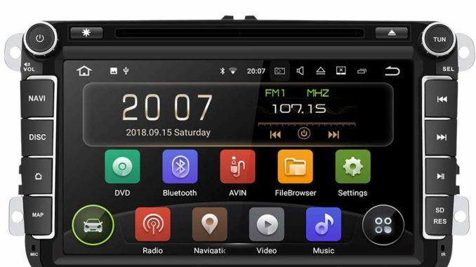 Aumume 8 Zoll Android-Autoradio für Golf, VW, Skoda, Seat
