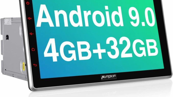 PUMPKIN Android 9.0 Autoradio Moniceiver 4GB